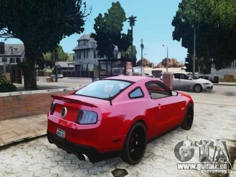 Ford Mustang GT 2011 pour GTA 4 Vue arrière de la gauche