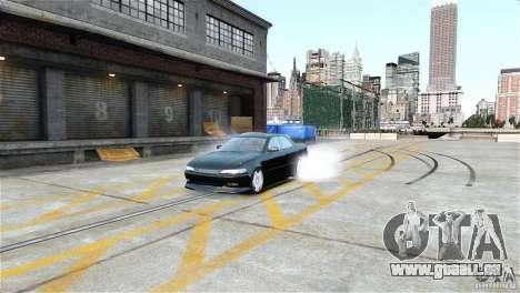 Toyota Mark II 2.5 pour GTA 4 est une gauche