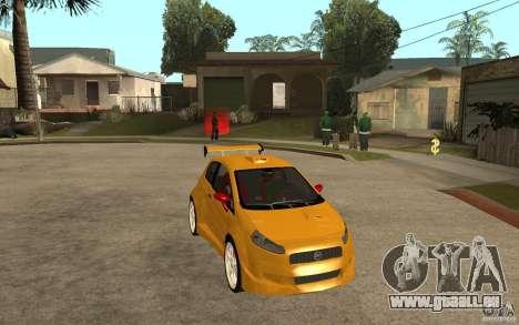 Fiat Grande Punto Tuning pour GTA San Andreas vue arrière