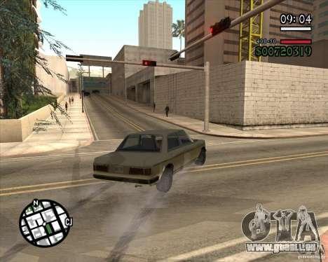 Nouvelle gestion pragmatique pour GTA San Andreas