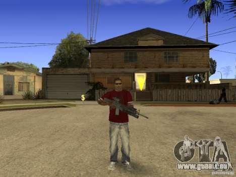 M4 Arma für GTA San Andreas dritten Screenshot