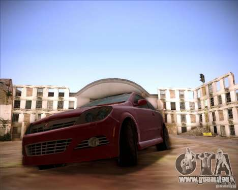 Opel Astra Saturn pour GTA San Andreas sur la vue arrière gauche