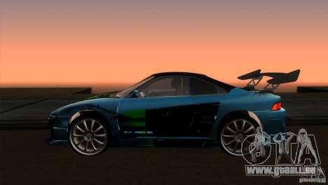 Toyota MR2 Drift pour GTA San Andreas laissé vue