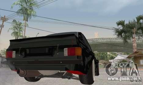 Ford Escort Mk2 pour GTA San Andreas vue de droite