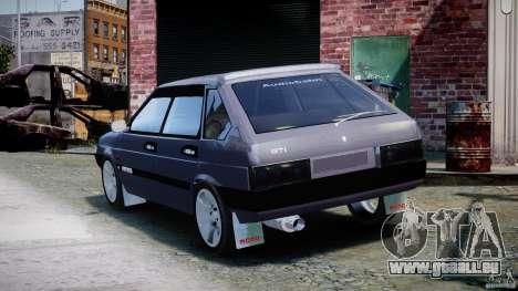 Vaz-2109 Samara 1999 pour GTA 4 Vue arrière de la gauche