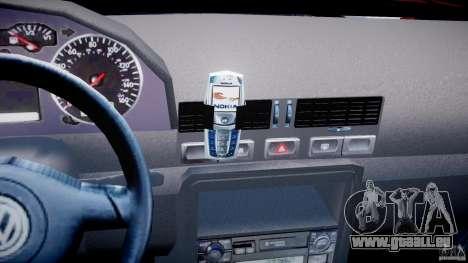 Volkswagen Bora für GTA 4 Unteransicht