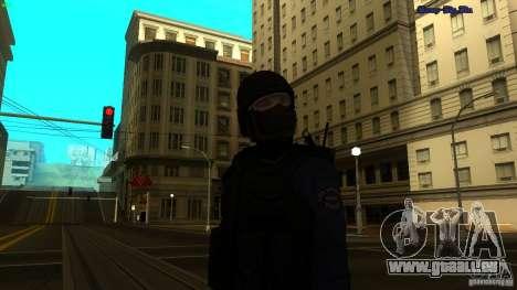 SWAT Officer für GTA San Andreas zweiten Screenshot