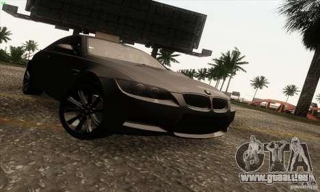 BMW M3 E92 2008 für GTA San Andreas Rückansicht