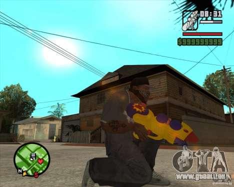 Pistolet à eau pour GTA San Andreas