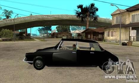 Citroen ID 19 pour GTA San Andreas laissé vue