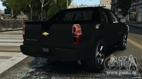 Chevrolet Avalanche 2007 [ELS] für GTA 4 hinten links Ansicht