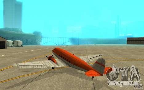 Thomas Cook Nevada für GTA San Andreas rechten Ansicht