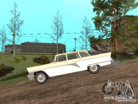 GAZ 13 pour GTA San Andreas sur la vue arrière gauche