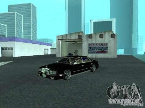 Nissan President JS pour GTA San Andreas laissé vue