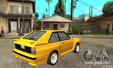 Audi SportQuattro 1983 für GTA San Andreas rechten Ansicht