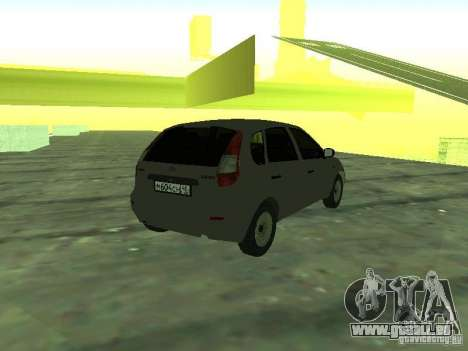 LADA 1119 Fließheck Kalina für GTA San Andreas linke Ansicht