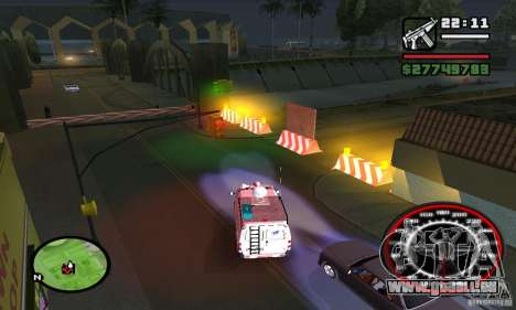 Base GROOVE Street pour GTA San Andreas quatrième écran