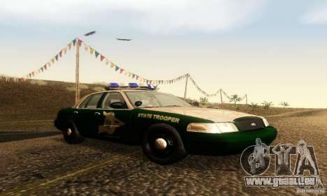 Ford Crown Victoria New Hampshire Police für GTA San Andreas