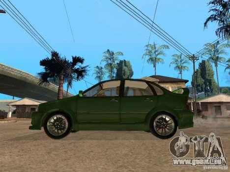Lada Kalina Sport Tuning für GTA San Andreas linke Ansicht