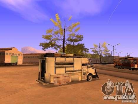 Monster Van pour GTA San Andreas laissé vue