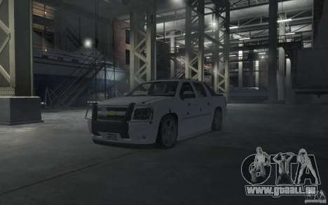 Chevrolet Avalanche v1.0 für GTA 4 Innen
