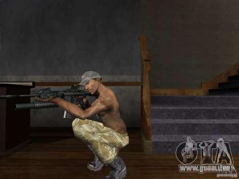 Chapeaux de Call of Duty 4: Modern Warfare pour GTA San Andreas quatrième écran