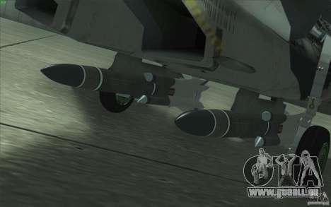 Su-35 BM v2. 0 für GTA San Andreas Motor