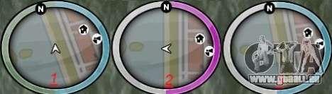 New GTA IV HUD 1 für GTA San Andreas zweiten Screenshot