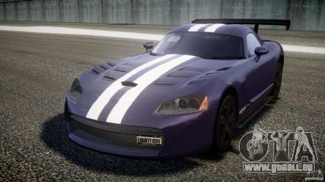 Dodge Viper RT 10 Need for Speed:Shift Tuning pour GTA 4