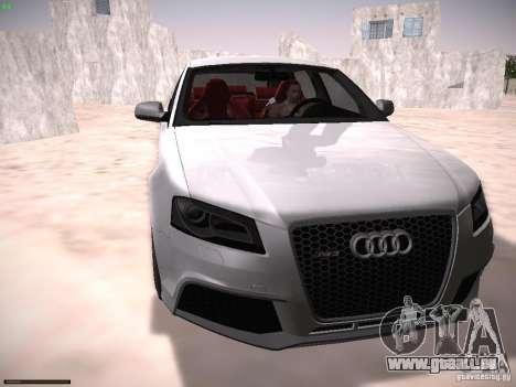 Audi RS3 2011 für GTA San Andreas
