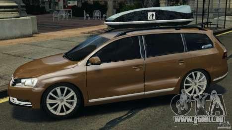 Volkswagen Passat Variant B7 für GTA 4 linke Ansicht