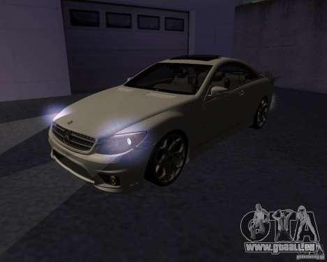 Mercedes-Benz CL65 AMG pour GTA San Andreas