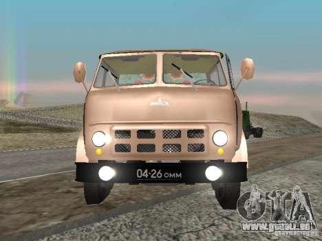 MAZ 503 pour GTA San Andreas vue de droite