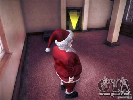 Santa Claus pour GTA San Andreas quatrième écran