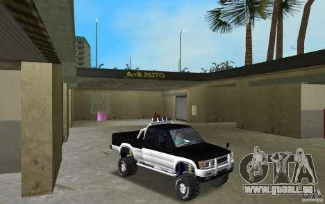 Toyota Hilux Surf für GTA Vice City Rückansicht