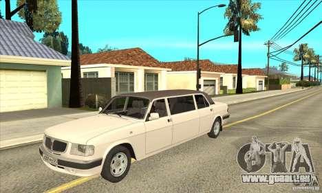 GAZ 3110 Sedan pour GTA San Andreas