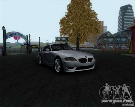 BMW Z4M für GTA San Andreas Rückansicht