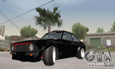 Ford Escort Mk2 pour GTA San Andreas laissé vue