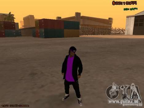 Ballas skins pour GTA San Andreas