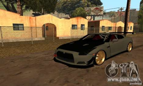 Nissan GTR R35 Tuning für GTA San Andreas