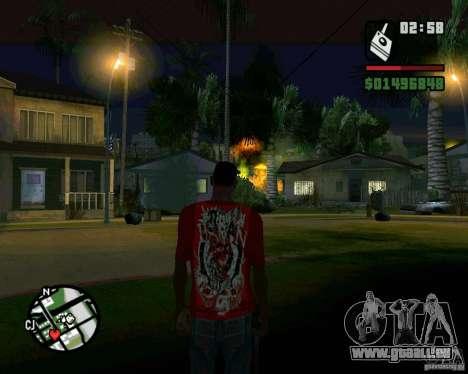 Bombe für GTA San Andreas siebten Screenshot
