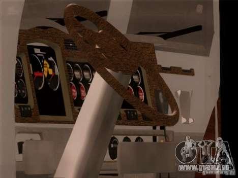 Western Star 4900EX skin 1 für GTA San Andreas rechten Ansicht