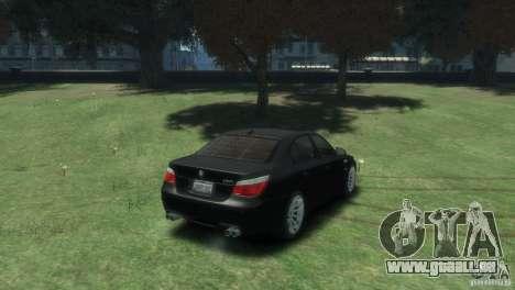 BMW M5 pour GTA 4 est un droit