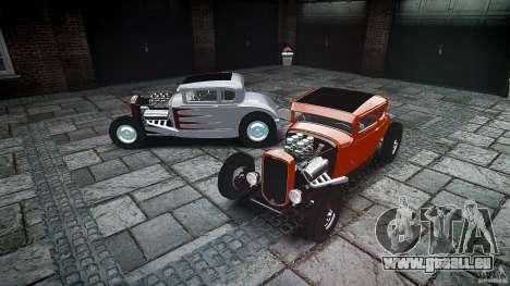 Ford Hot Rod 1931 für GTA 4 Unteransicht