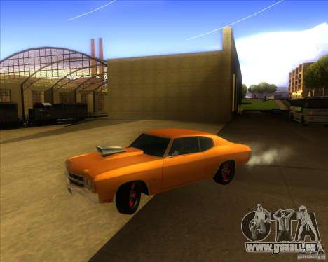 Chevy Chevelle SS Hell 1970 pour GTA San Andreas