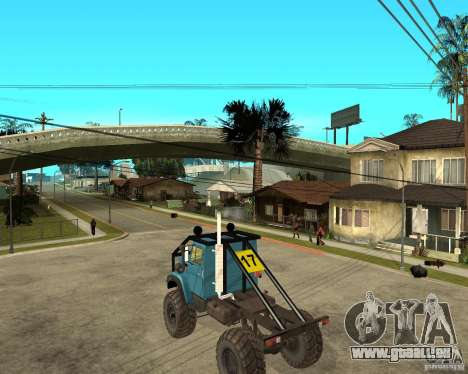 ZIL 4421-RALLYE für GTA San Andreas linke Ansicht