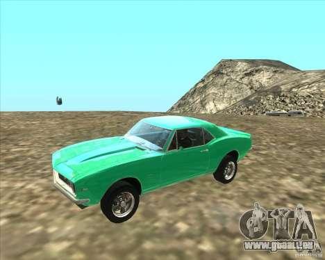 Chevrolet Camaro z28 für GTA San Andreas linke Ansicht
