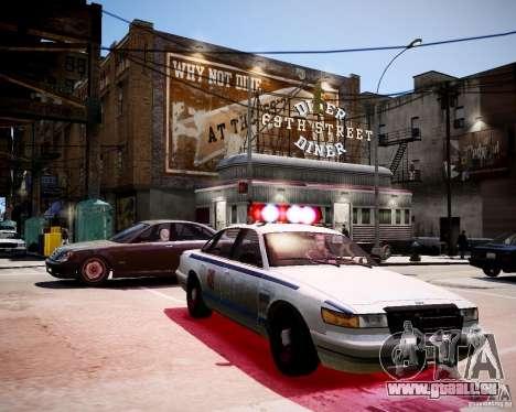 Russian Police Cruiser pour GTA 4 est un droit