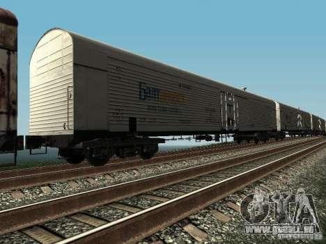 Refrežiratornyj wagon Dessau n5 prima audit pour GTA San Andreas