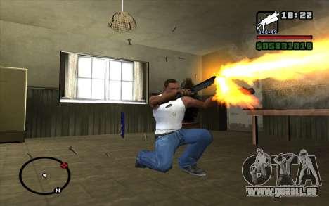 PP-19 Bizon für GTA San Andreas her Screenshot